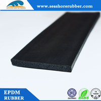 custom the epdm flat rubber seals strip