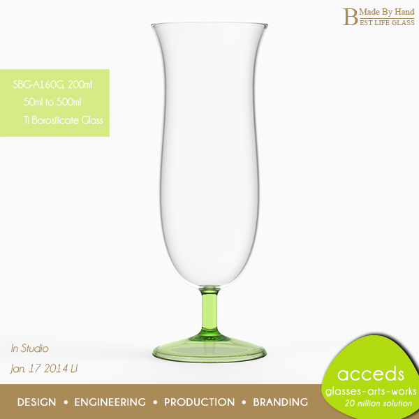 Handcrafted unique funky short stem wine glasses buy - Funky champagne flutes ...