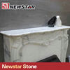 Newstar marble fireplace mantel indoor