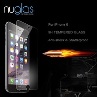 Premium 0.3mm 9H Anti-shatter Screen Protector for iPhone 6 Tempered Glass, Anti Scratch Screen Protector for iPhone 6