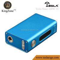 nice electronic cigarette box mod 100W TC Tesla Nano 100W TC box mod nice electronic cigarette