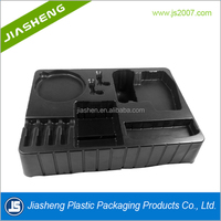 Black Antistatic ESD Electronic Component Blister Packaging Tray