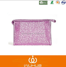 Women Cosmetic Bags Transparent Hollow Waterproof Bright Silk Dazzle Color Profusion Female Makeup Bags