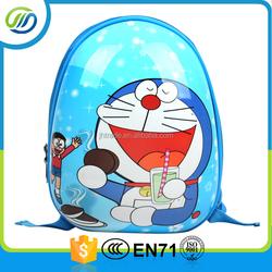 ABS cartoon kids trolley bag/kids luggage/children backpack