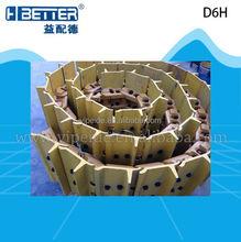 excavator parts track shoe assembly D6H