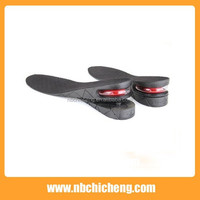 High Quality PU Foam Height Increasing Insole for Male and Female Double Layer Shoe Insole Height Increase Insole