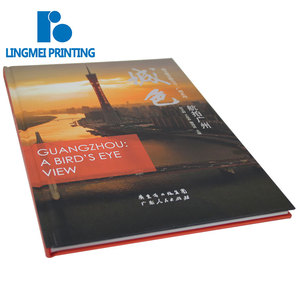 Personnalisé A4 impression couleur argent estampage à chaud hardcover journal en vrac photo livre impression avec fil de liaison