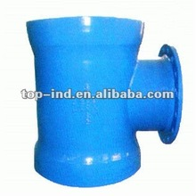 China Double-socket tees with flanged branch