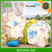 home textile cotton printed cotton bed sheets for kids