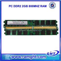 ETT chips 800mhz 128mbx8 16c 8bits 2gb ddr2 ram stick