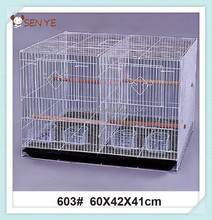 Stainless steel wire mesh bird cage,wire mesh pallet cage