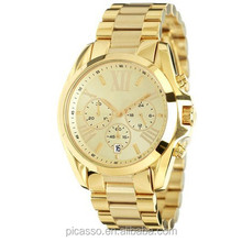 Bradshaw Gold Tone Chronograph Watch MK5605
