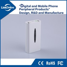 china OEM Smart quick cell phone charger with 5200 mAh power bank capacity
