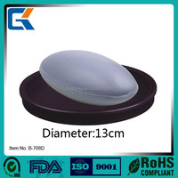 For house using cheapest price round mini soap dish for shower B708D