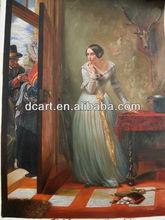 lady figure painting