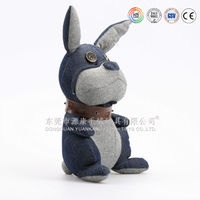 new wholesale animal stuffed toy,soft fabric rabbit plush toy