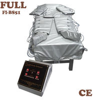 New Arrival Portable Air Pressure and Infrared Heat Body Slimming and Detoxing Spa Unit Machine