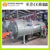 Enough Heating Power 3-Pass Horizontal Oil Gas Fired Boiler, Oil Fired Steam Boiler