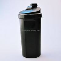 MY-K19 Custom 700ML shaker cup wholesale, unique lid protein shaker bottle