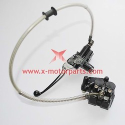 The front disc brake assy for the 50cc to 150cc dirt bike