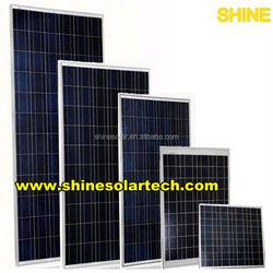 high watt power solid polycrystalline solar panel 260W