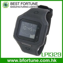 LP1329 Silcone Strap Multifunction LCD Analog Digital wrist Watch