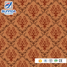 Sunnda follower pattern glazed vitrified floor tile design