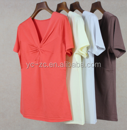 High quality wholesale cheap t shirts in bulk plain women Bulk quality t shirts