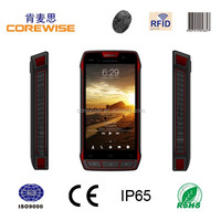 Manufacture handheld smart phone wifi/ touch screen/ biometric fingerprint sensor/ android terminal wireless rfid card reader
