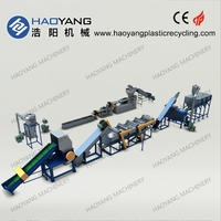 outstanding waste PE PP PET PVC pp pe film recycling line