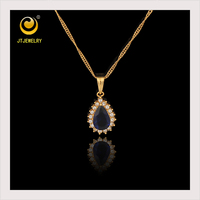 Low Cost High Quality gem Plain Gold Pendant