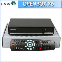 2013 DVB-S2 Cheap HD Openbox X6 Satellite Receiver Hotsale from DVB factory