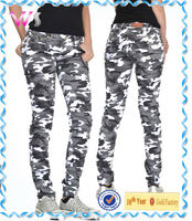 Womens Army Camouflage khakis and co military style cargo pants