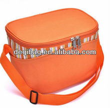 Outdoor flexible bulk insulated wine cooler bag for frozen food Picnic Camping bag