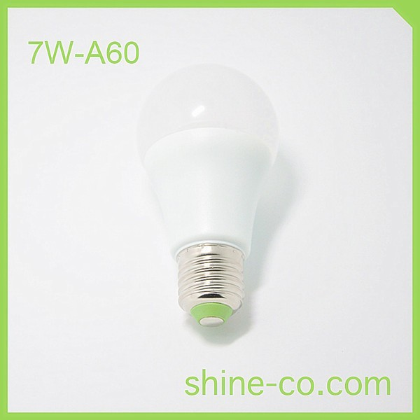 7w a60 led e27 small base light bulbs led globe bulb cri. Black Bedroom Furniture Sets. Home Design Ideas