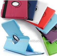 360 Rotating Leather case cover for samsung galaxy tab2 P5100 and P5110 Stand