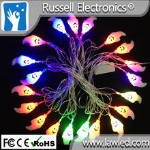 la decoración de halloween cadena de luces led