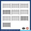powder coated fence steel panel, garden fence design, fence panels square tube