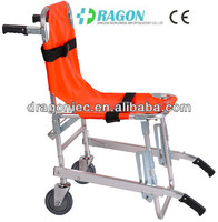 DW-ST001 folding rescue stair chair stretcher safety belts for wheelchairs