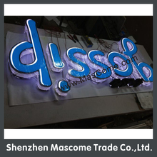 waterproof used led backlit and edgelit and frontlit commercial advertising letter signs