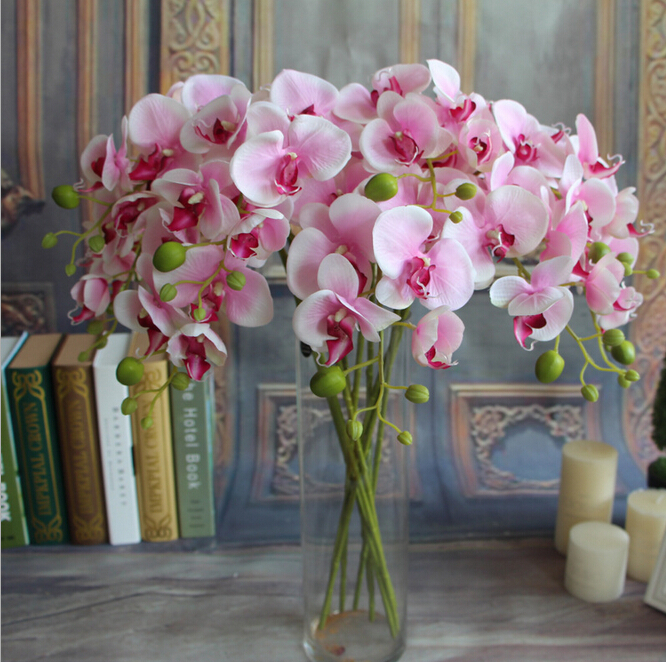 Gnw Fl-ok78 Real Touch Artificial Dendrobium Orchid Flower Sale For ...
