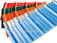 ASA coated synthetic resin roofing tiles