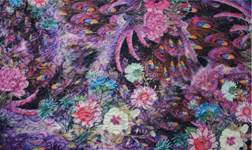 printed polyester cotton Fabric