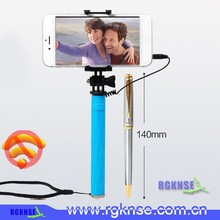 2015 china wholesale alibaba wired selfie stick, foldable selfie stick, super mini selfie stick like pen