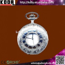 Chrome Classic Pocket Watch Musical Watch For Elderly People