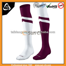 brand high quality red blue white football soccer thigh high basketball socks,mens sport socks,custom logo sport socks