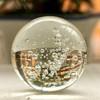 crystal clear human bubble ball glass ball