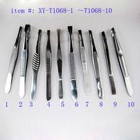 stainless steel tweezer mirror polish tweezers led lights tweezer