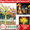 waterproof 220v led rope light palm tree for outdoor decoration led rope light palm tree