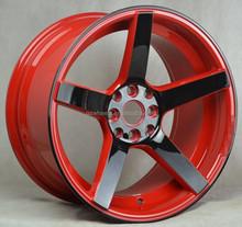 alloy wheel 4x114.3 color car wheel 17 inch replica alloy wheels 4x100